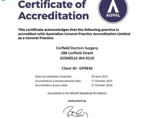 This general practice is AGPAL accredited – what does this mean?